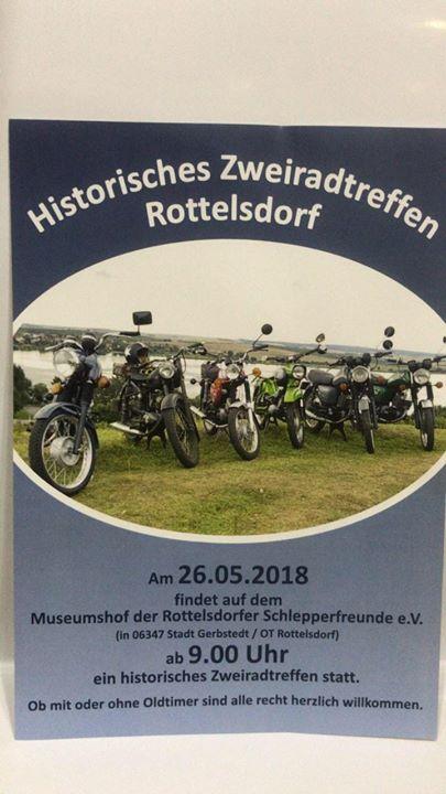 Historisches Zweirad-Treffen Rottelsdorf