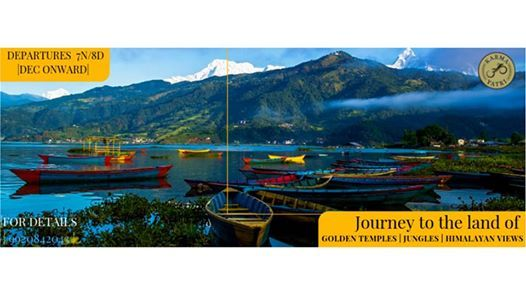 Golden Temples Wild Jungles Himalayan Views  A journey to Nepal
