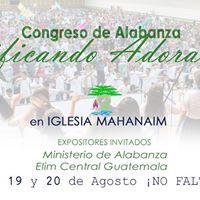 Congreso de Alabanza Edificando Adoradores