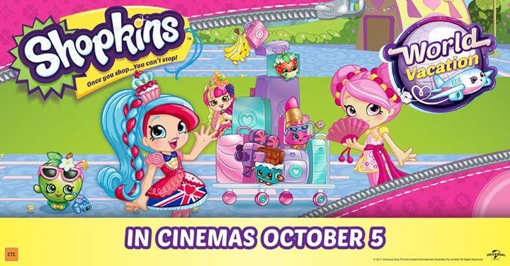 Shopkins World Vacation At BCC Cinemas Casuarina Darwin