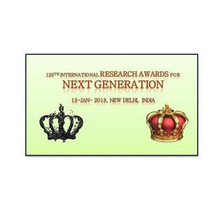 125th International Research Awards for NEXT Generation