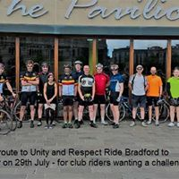 Club Ride Bradford to Manchester and return Unity and Respect