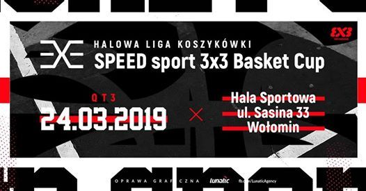 SPEED sport 3x3 Basket Cup - vol. 2