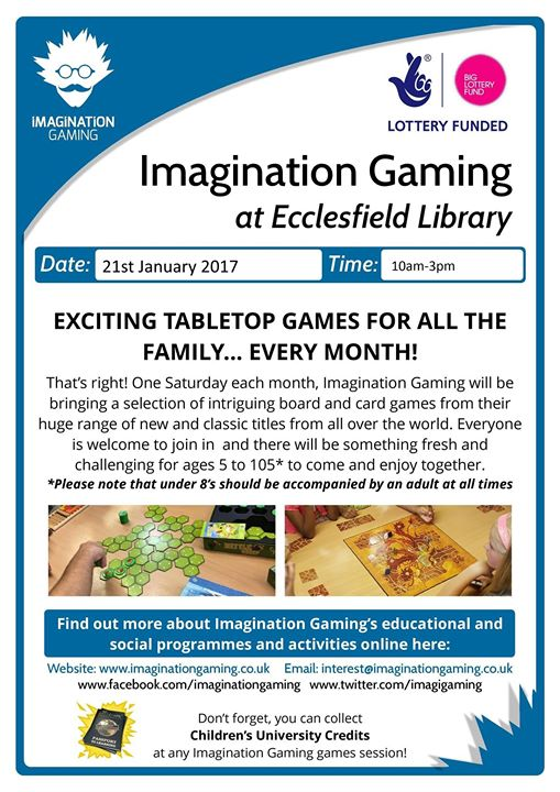Imagination Gaming January