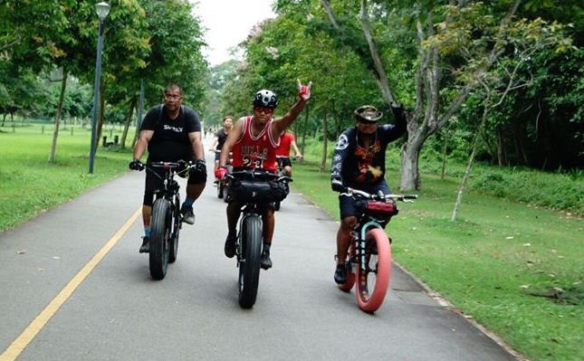 Fatbike Sg Century Ride At Ulu Pandan Pcn Singapore