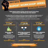 Budget Workshop Series
