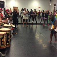 Delous West African Dance Class
