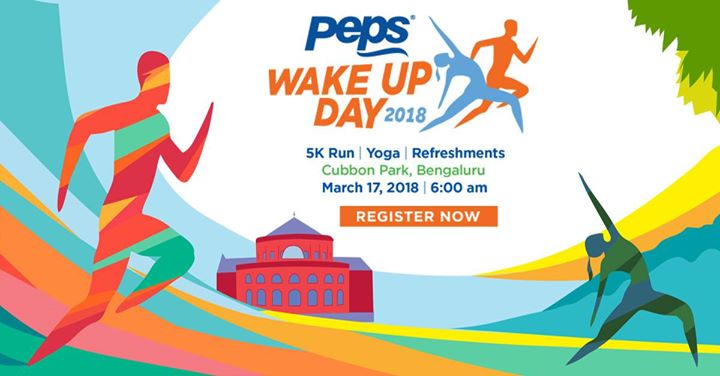 Peps Wake Up Day 2018 (5K Run & Yoga) Free Registrations