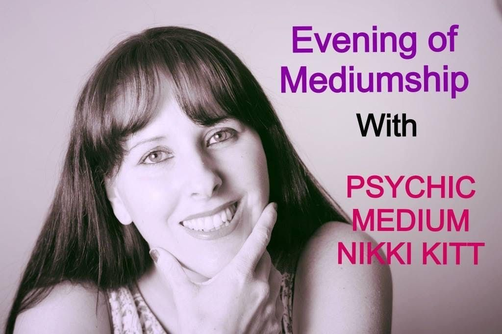 Evening of Mediumship with Nikki Kitt - Barnstaple
