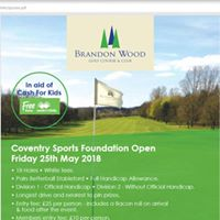 Coventry Sports Foundation Open