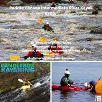 Paddle Canada Intermediate River Kayaking Skills