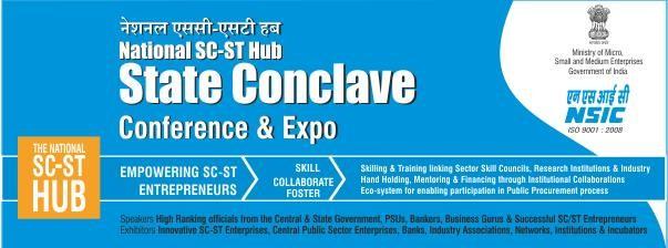NSSH State Conclave for SC & ST Entrepreneurs