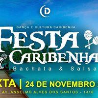 Festa Caribenha  24 de Novembro