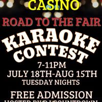 Road to the Fair Karaoke Contest