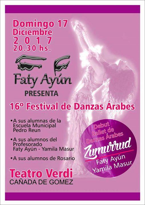 16 Festival de Danza rabes -FATY AYN