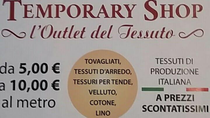 Inaugurazione Temporary Shop, Loutlet Del Tessuto- Livorno at CENTRO ...