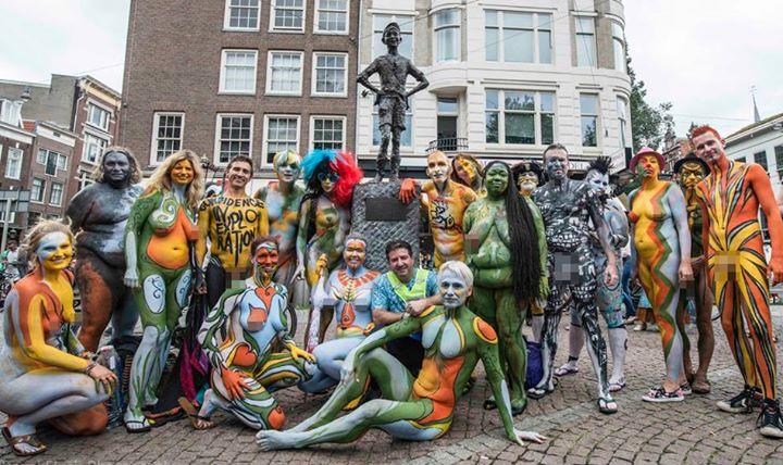Bodypaint rotterdam 2017 - 2 4