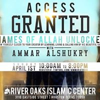 Access Granted Names of Allah Unlocked with Ammar AlShukry