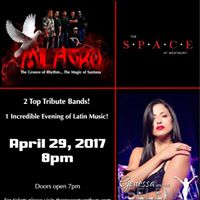 Special guest Milagro at the Space Theater Westbury NY