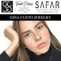 Gina Cueto Jewelry Trunk Show
