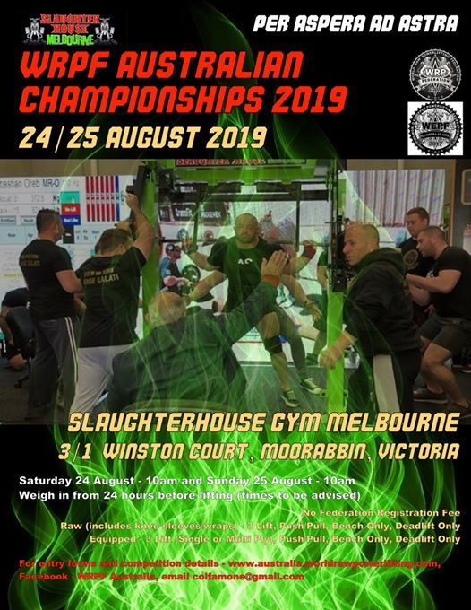 Championship events in South Yarra, Today and Upcoming