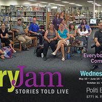 StoryJam An Evening of Community Storytelling