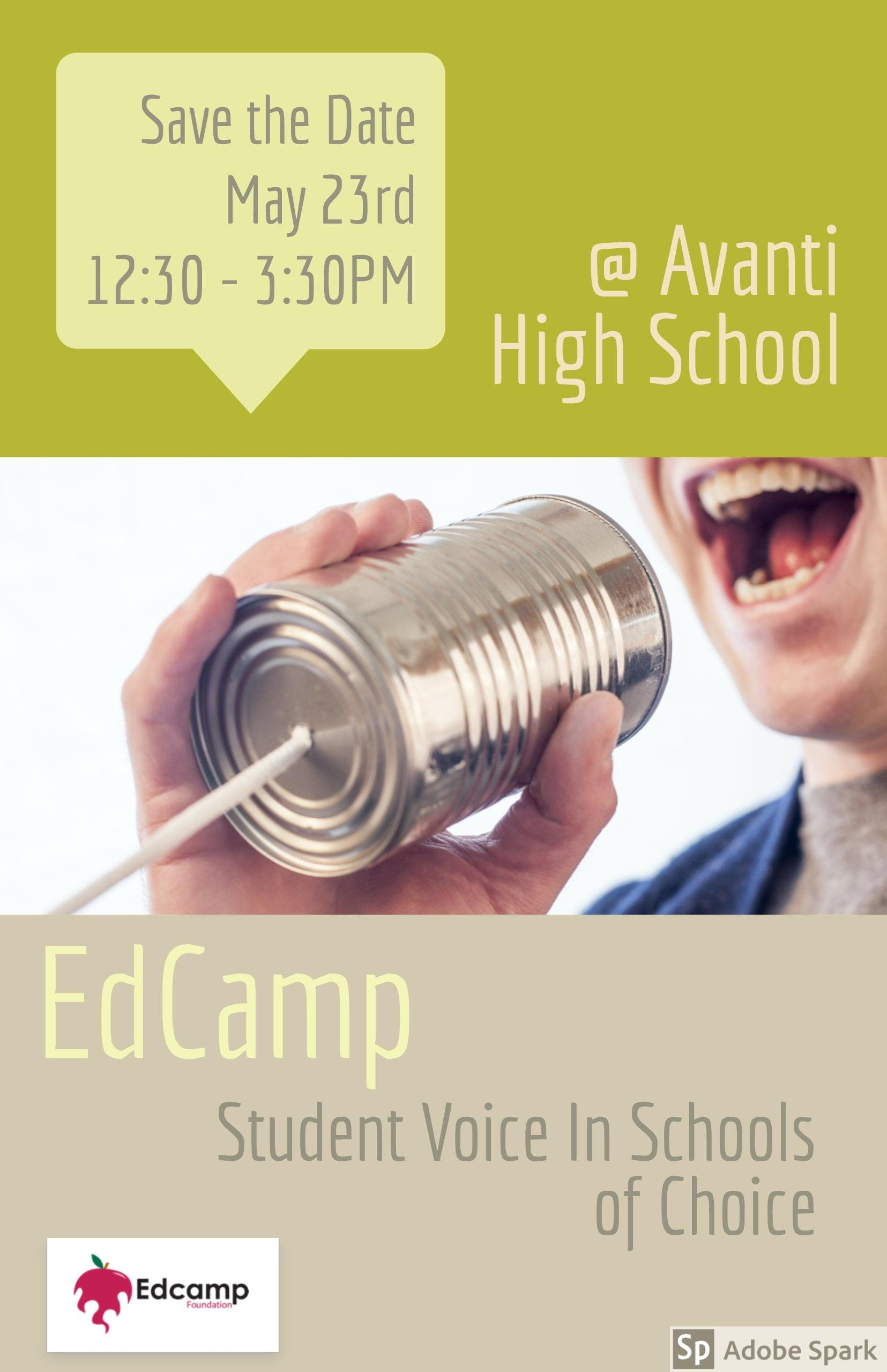 Edcamp Oly - Student Voice in Schools of Choice