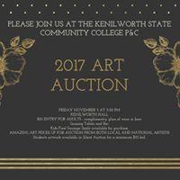 Kenilworth State Community College P&ampC Art Auction 2017