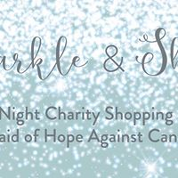 Sparkle and Shine Charity Shopping Evening