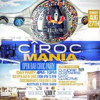 Ciroc Mania Open Bar Party At Space Ibiza