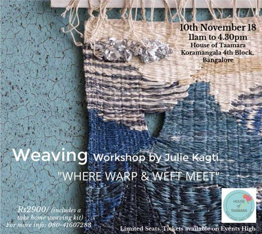 Weaving Workshop by Julie Kagti