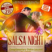 Salsa Party Friday April 28th