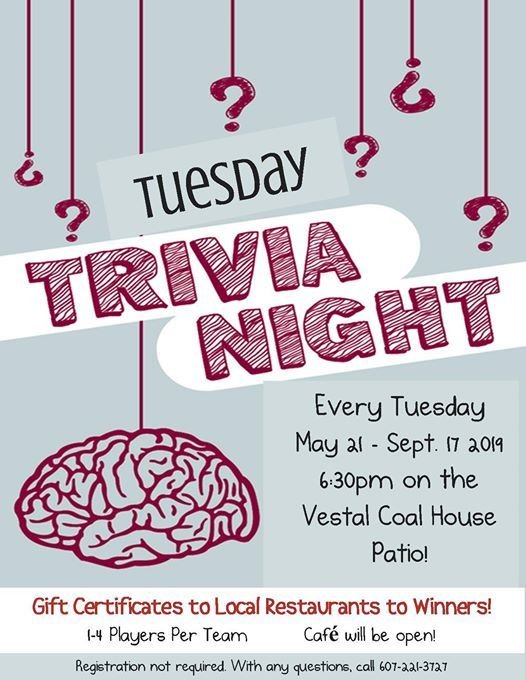 Tuesday Trivia Opening Night