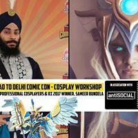 Road to Delhi Comic Con Cosplay Workshop