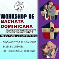 WORKSHOP DE BACHATA DOMINICANA COM ISACKSON NASCIMENTO E FLORENCE GILBERT