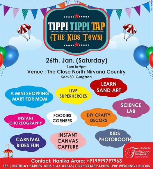 Tippi Tippi Tap-Kids town Edition 3