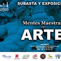Mentes Maestras del Arte 2017 CDMX