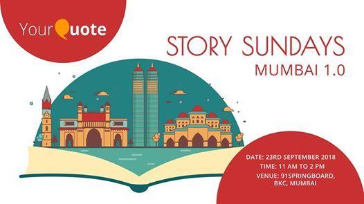 YourQuote Story Sundays Mumbai 1.0