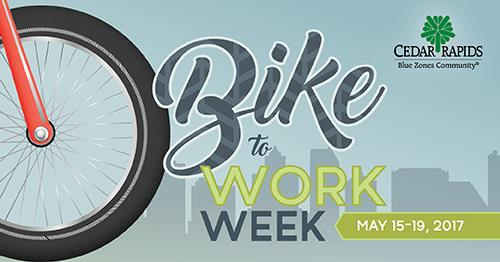 Bike To Work Week 2017 At City Of Cedar Rapids Iowa Government