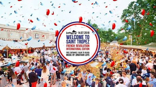 Welcome to Saint-Tropez  French Revolution edition Terrasse O2