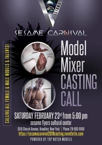 Sesame Carnival - Model Mixer Casting Call