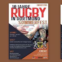 10 Jahre Rugby in Dortmund - Jubilumsfest