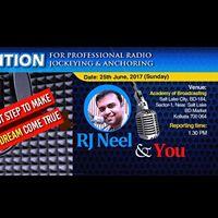 Audition on Professional Radio Jockeying &amp Anchoring