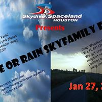 Shine or Rain Houston Skyfamily Fest