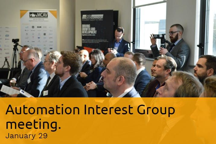 Automation Interest Group meeting