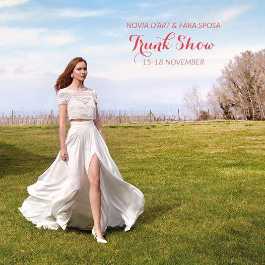 b5904d51d4f Novia DArt and Fara Sposa Trunk Show at Belladonna Bridal