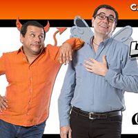 Laureamor y Emidilio con Laureano Marquez y Emilio Lovera