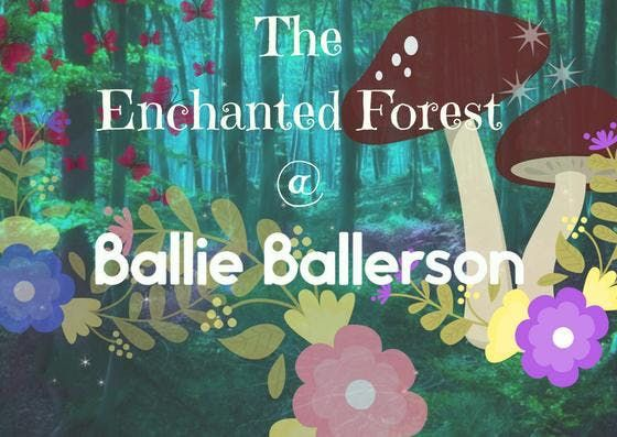 The Enchanted Forest at Ballie Ballerson Saturday 11th August