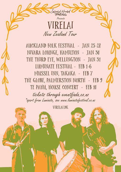 Virelai NZ Tour 2019