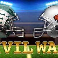 Civil War Ducks vs Beavers